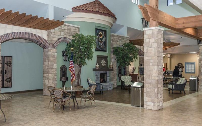Catholic Care Center Interior