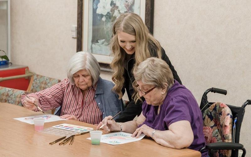 Seniors Drawing